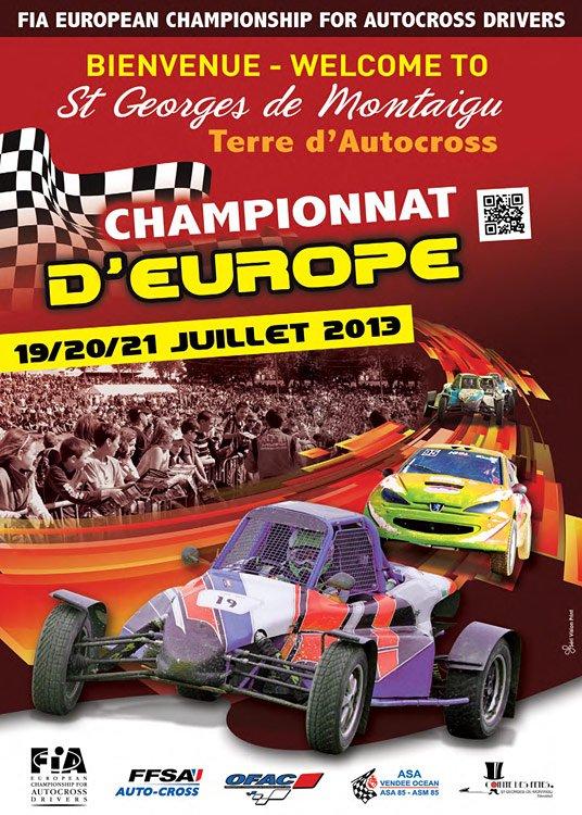 Prochain rendez-vous du championnat d'Europe Autocross... Dans l'ouest en plus...