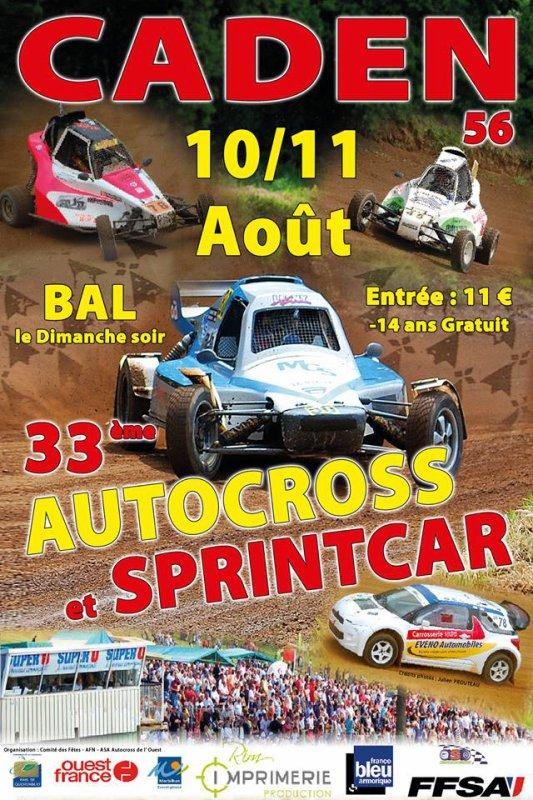 Prochain rendez-vous de championnat de l'ouest de Sprint-car et d'autocross!!!