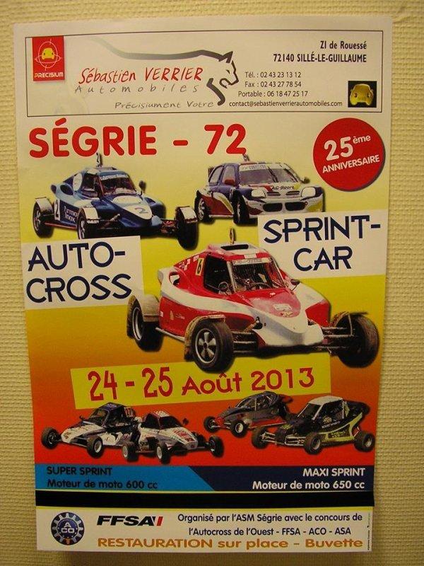 Prochain Rendez-Vous Du Championnat De L'Ouest D'Autocross Et De Sprint-Car...