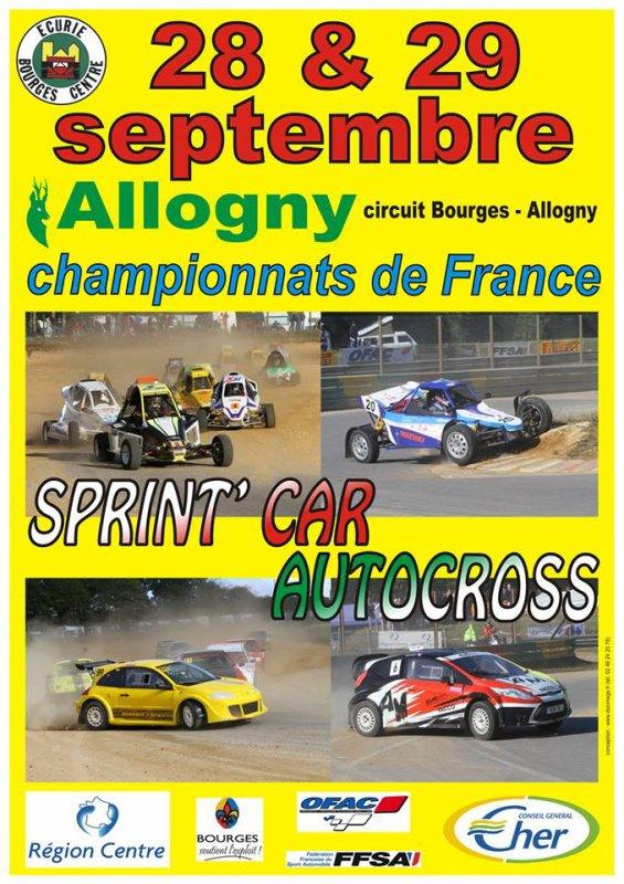 Dernier Rendez-Vous Pour Le Championnat De France Autocross Et Sprint-Car...