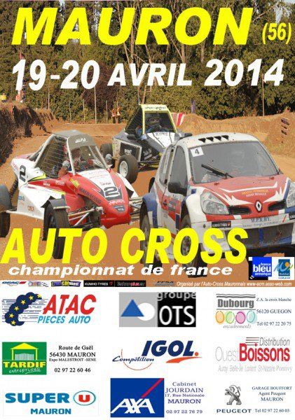 Championnat et Coupe De France Autocross/Sprint-Car 2014, 1er Etape...