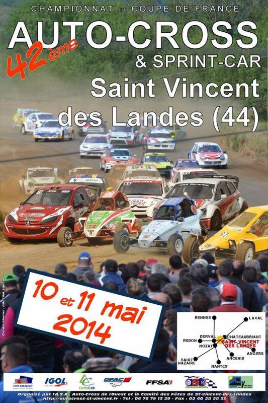 Championnat Et Coupe De France Autocross Et Sprint-Car 2014, 3ème Etape!!!