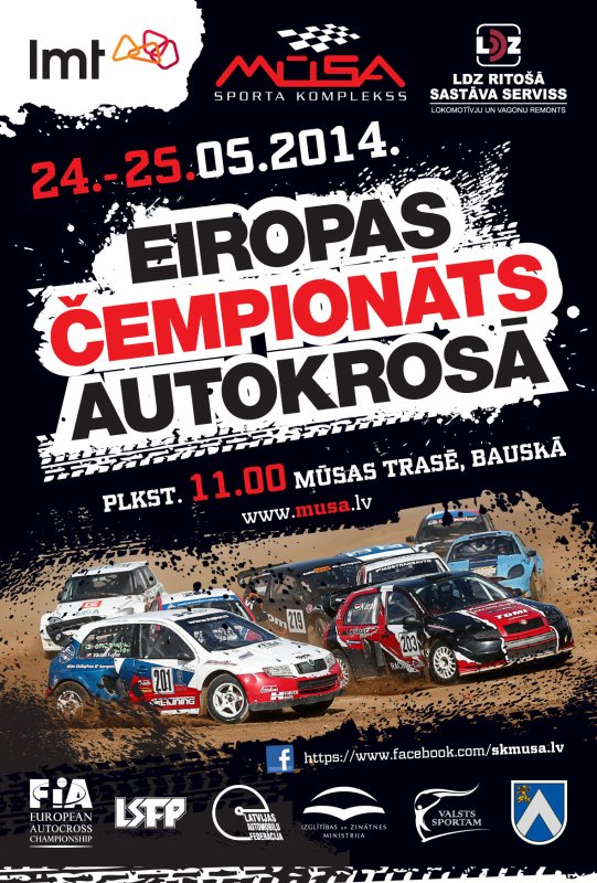 Championnat D'Europe Autocross 2014!!!