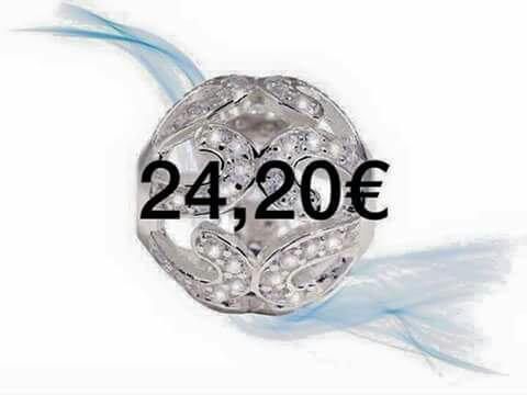 Bracelets +perles d argent d Elea Silver cher Frédéric M