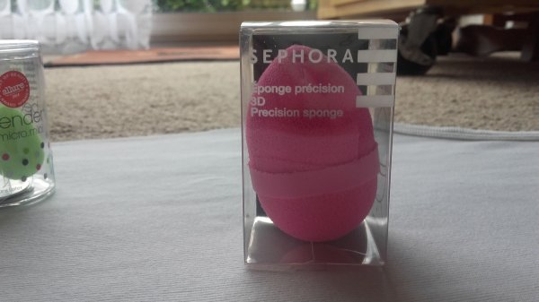 Première commande Sephora reçue, partie 3/? : unbowing de l'éponge précision 3D