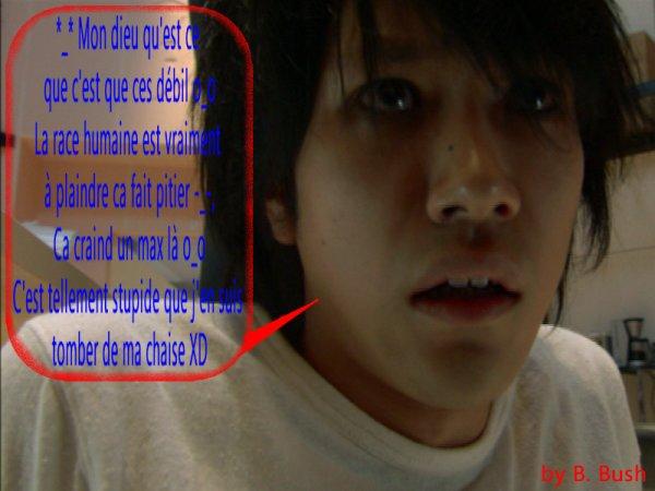 Une page enfin tourner ! (Après avoir rédiger les articles XD)  Un univers enfin reconstruit ^^ (depuis l'arriver de mon éternel : Ryuzaki (23 mai 09) Et des traitres imbeciles enfin détruit de ma mémoire ^^