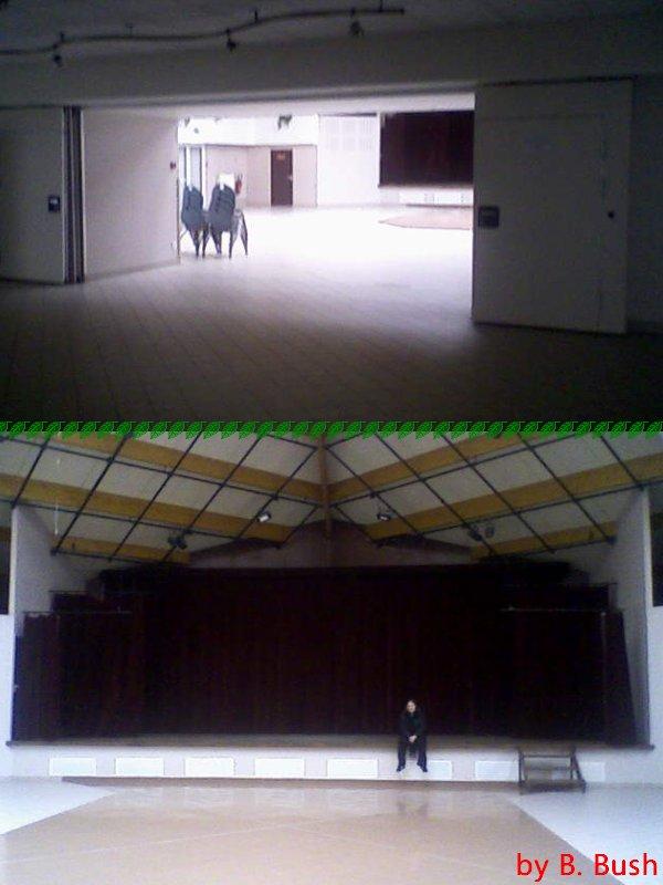 La salle de spectacle vide