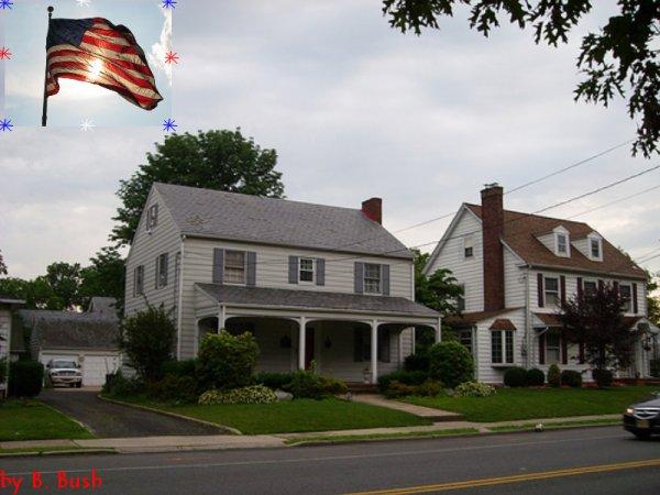 La maison de mes rêves, dans le quartier de mes rêves et dans le pays de mes rêves XD
