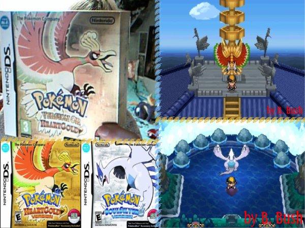 Pokemon Coeur d'or et Ame d'argent enfin arriver en france *_* Aujourd'hui 26 MARS !!