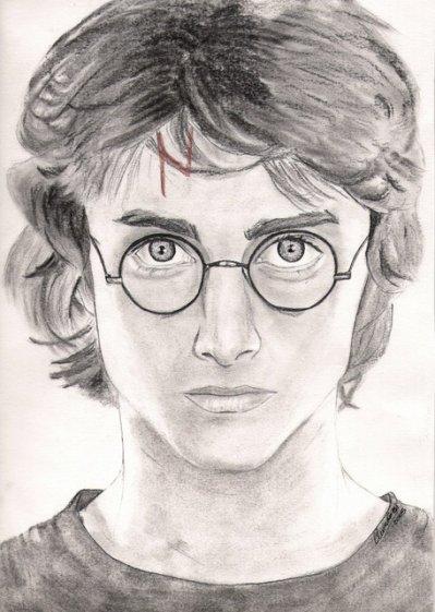 Dessin harry potter blog de jackson222 - Portrait dessin facile ...