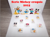 Serie Mickey croquis 2015