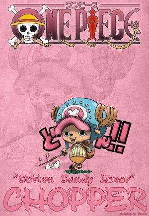 Les Mugiwara (première partit) : Luffy - Zoro - Usopp - Sanji - Nami - Chopper
