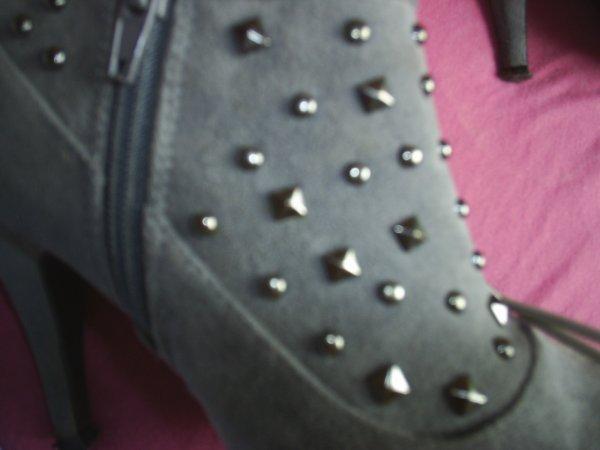 boots grise pointure39  15¤