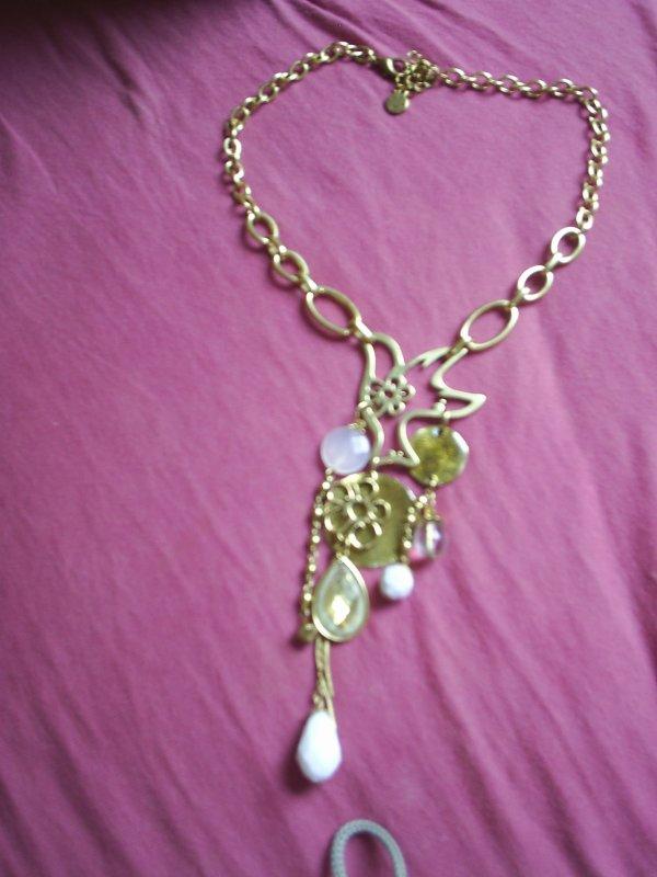 collier doré 5¤