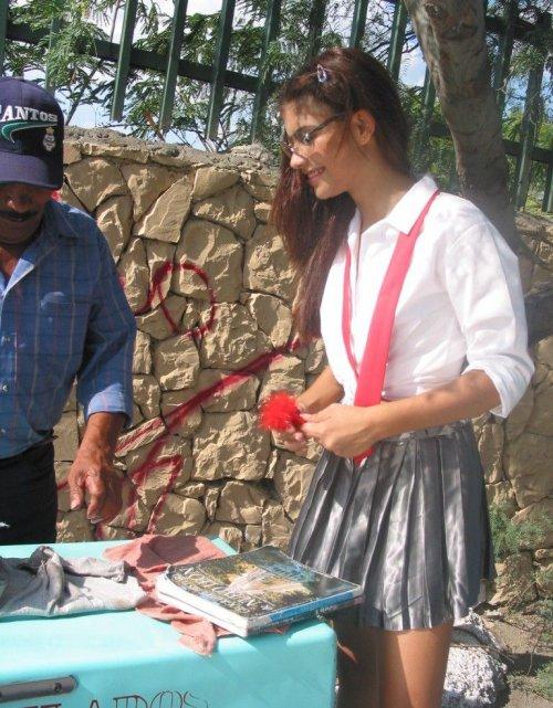 Petit village au coeur du mexique