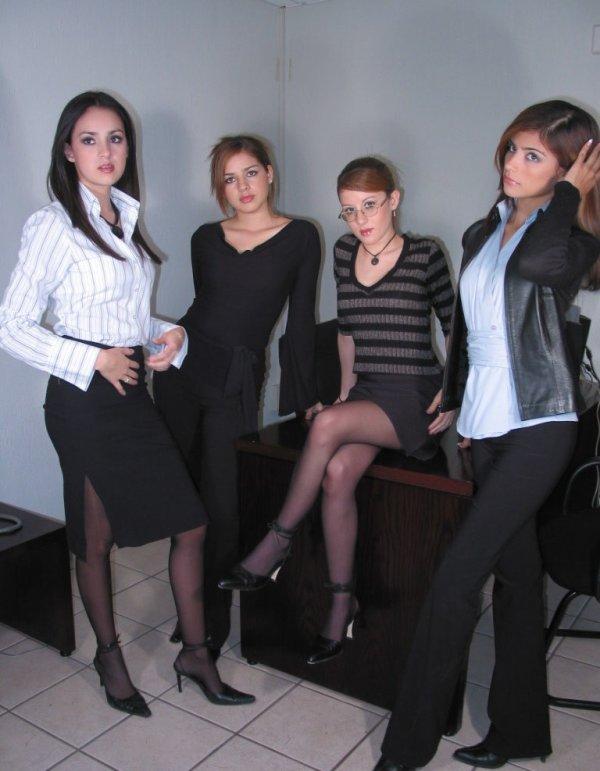 avec les filles