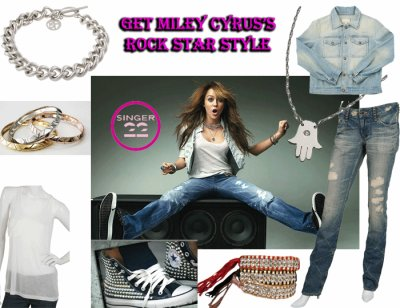 look rock par miiley
