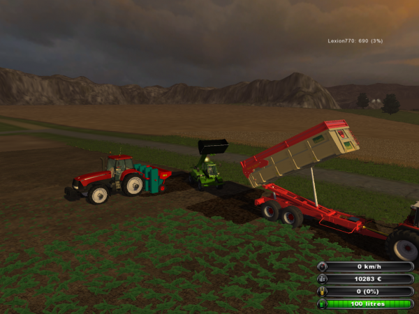 plantation de PDT ds Farming simulator 2011