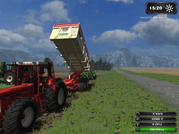 plantation de PDT ds Farming simulator 2011