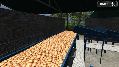 Farming-simulator 2011 : mes tapis a PDT