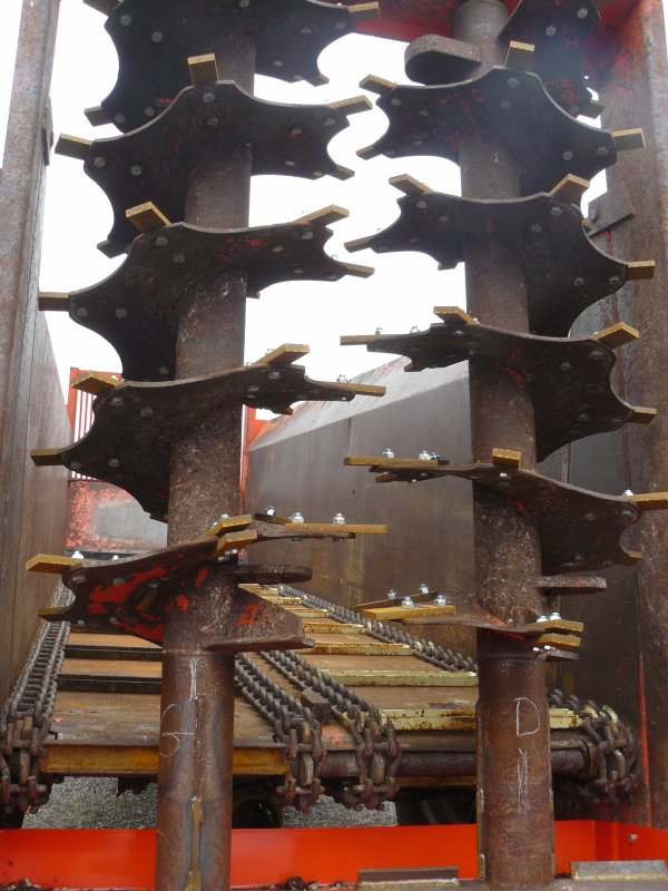 Portes ouverte chez Orenge a Raffetot (76) : materiel d'occasion