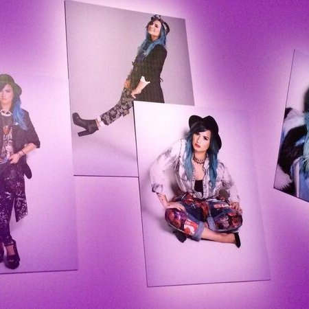 demi photo personelle( Nylonmag) xfactor