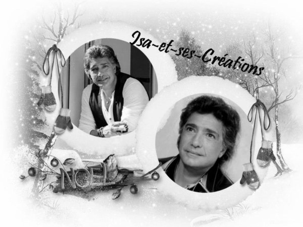 Ma créa de Noel de Frédéric François