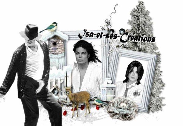 Ma créa de Noel de Mickael Jackson