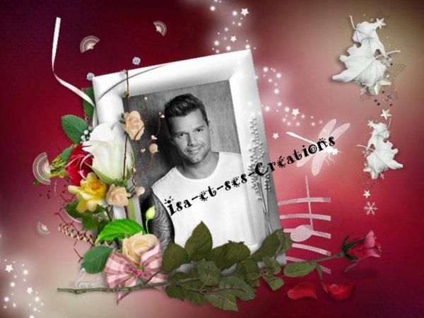 Mes nouvelles créa de mon chéri : Ricky Martin