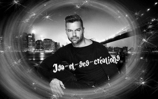 Mes nouvelles création de mon Ricky Martin