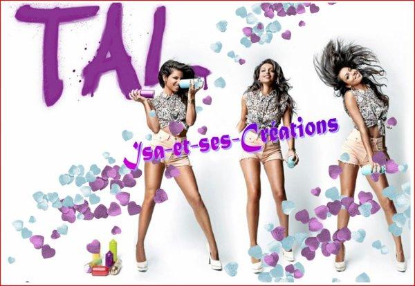 MES 3 NOUVELLES CREATIONS : TAL