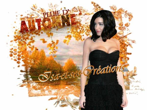 Suite : Mes nouvelles créa d'Automne 2014 - M. POKORA - JENIFER