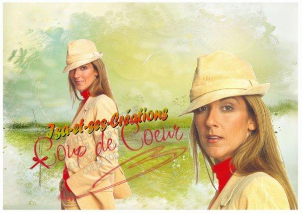 mes créa de Céline Dion