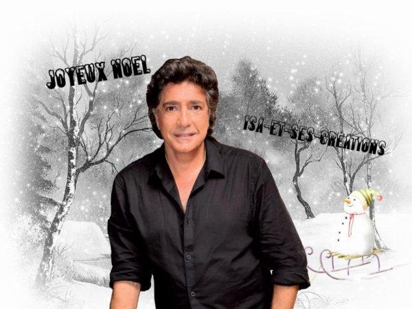 Mes nouvelles créa pour Noel : Frédéric Francois  Enrique Iglesias
