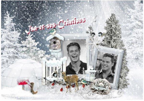 Suite : Mes créa de Noel de mon chéri : RICKY MARTIN