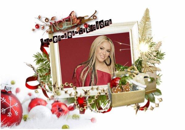 Suite : Mes créa de Noel 2014 : SHAKIRA