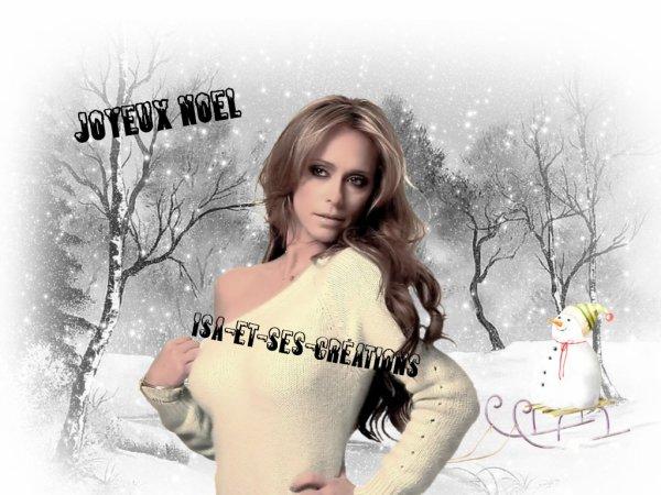 Suite : Mes créa de Noel 2014 : Jenifer love hewitt (Téléfilm Ghost Whisperer)
