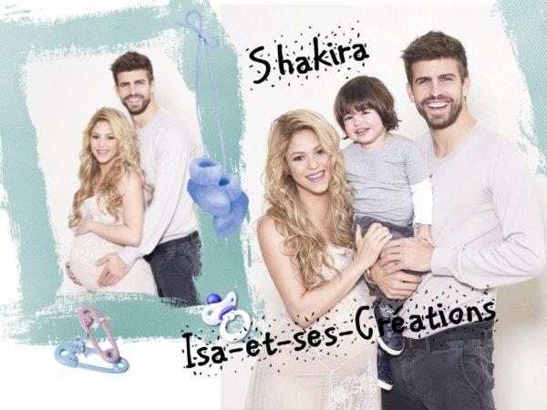 Ma nouvelle création : SHAKIRA
