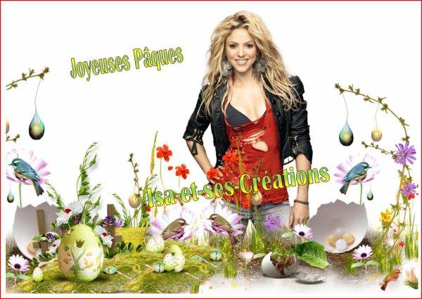 Mes nouvelles créa pour PAQUES 2015 : Grégory Lemarchal - Mike Brant - Ricky Martin - Shakira