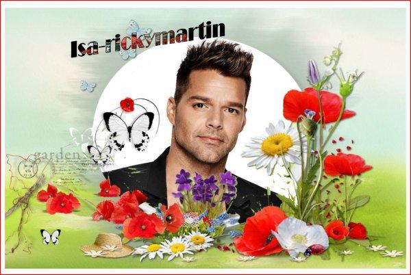 Mes nouvelles créations Printemps: Ricky Martin