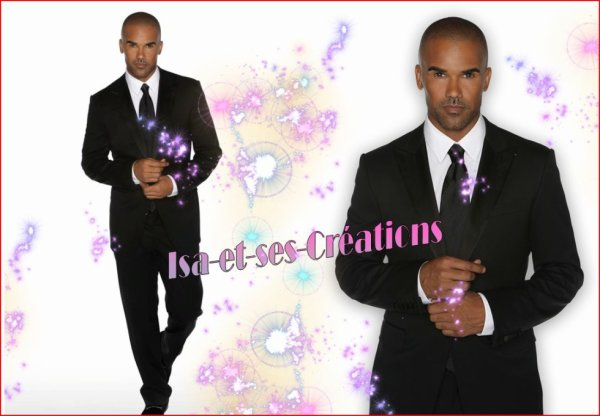 Ma nouvelle création : SHEMAR MOORE