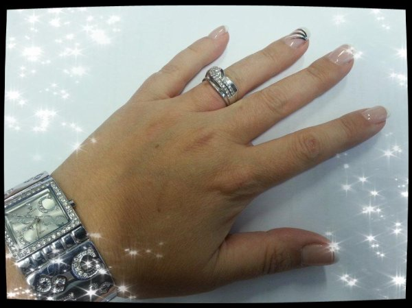 Ma nouvelle french manicure pour 3 semaines
