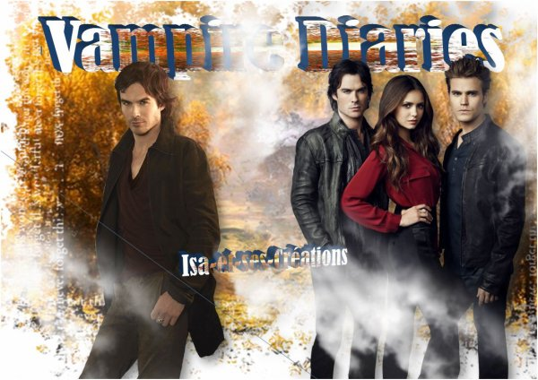 SUITE : MES CREATIONS D'AUTOMNE : VAMPIRE DIARIES