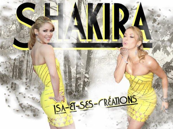 Suite mes nouvelles créations d'Automne : Shakira - Florent Pagny - Mylène Farmer - Patrick Dempsey - Frédéric Francois -