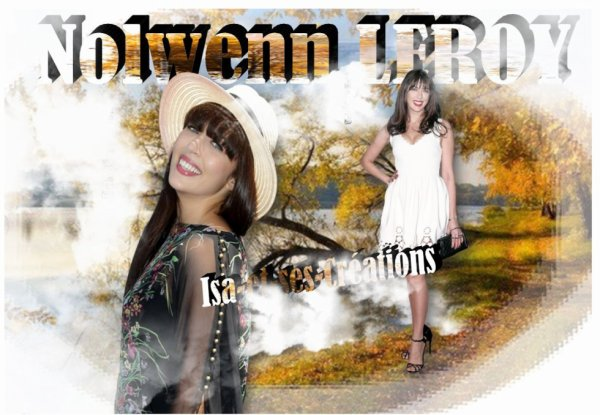 MA NOUVELLE CREATION : NOLWENN LEROY