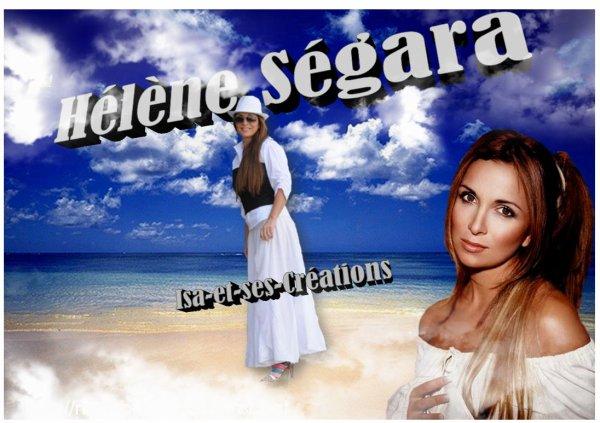 MES NOUVELLES CREATIONS : HELENE SEGARA