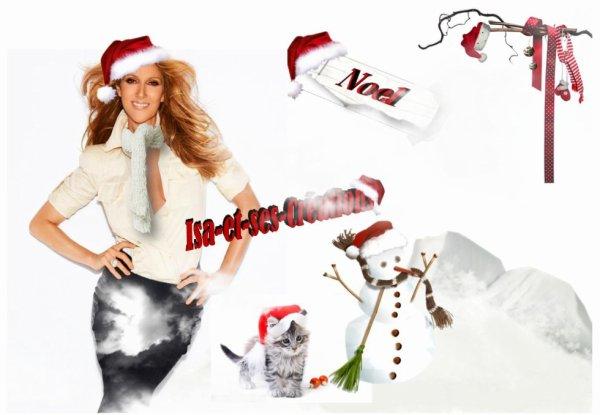 MES NOUVELLES CREA DE NOEL : Céline Dion - Rihanna - Vampire Diairies - Vanessa Paradis - Hélène Ségara - Kendji