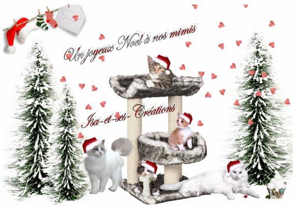 Mes petites créations pour Noel de nos mimis