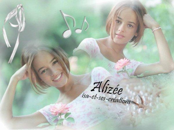 Mes créations d'Alizée