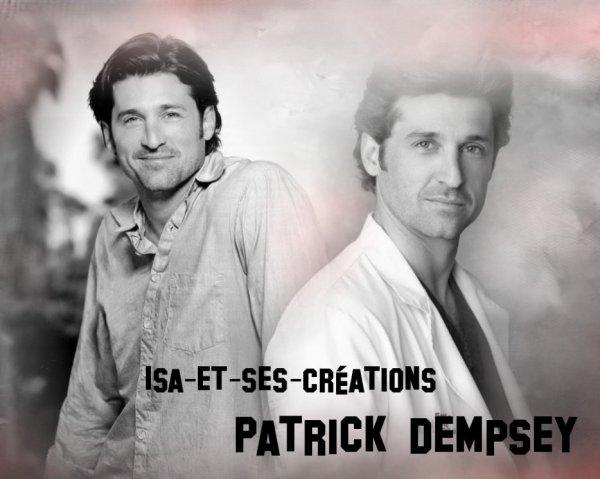 Ma création de PATRICK DEMPSEY (Dr Mamour)